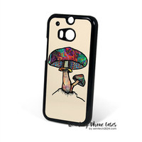 Alice In The Wonderland Papa Shroom  HTC One M8 Case Cover for M9 M8 One X Case