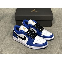 Air Jordan 1 Retro Low Hyper Royal 553558-401