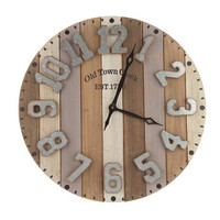 Striped Wood Pallet Wall Clock | Hobby Lobby | 1489566