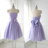 Cheap Short Mini Purple Homecoming dress prom dress by FreePeoples