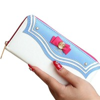 Cosplay Sailor Moon Long Zipper Wallet