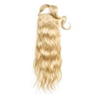 Wavy Clip-In Ponytail Extensions
