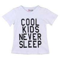 Cool Kids Never Sleep Top
