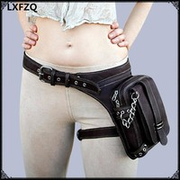 Thigh Holster Purse Shoulder Bag Steampunk Thigh Motor Leg Outlaw Pack Cosplay