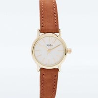 Reflex Suede Strap Watch in Tan - Urban Outfitters