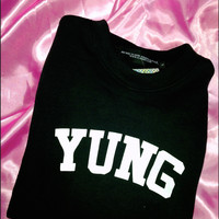 SWEET LORD O'MIGHTY! LIL YUNGIN SWEATER IN BLACK