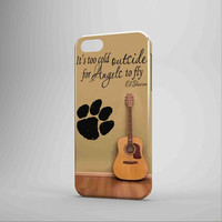 Ed Sheeran Guitar And Song Quote iPhone Case Samsung Galaxy Case KK 3D