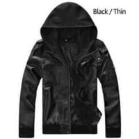 Mens Trendy Long Sleeve Hoodie Jacket