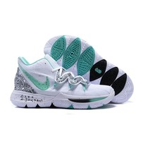 "Nike Kyrie 5 ""Unveiled"" PE White/Mint Green-Black Men Shoes - Best Deal Online"