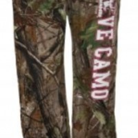 """LOVE CAMO"" Realtree Camo Lounge PantsPurchase"