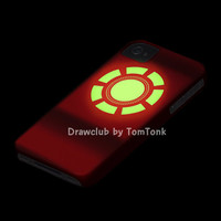 IPhone5 IPhone4 IPhone4S Case - Grow in the dark Iron man full-paint case By Drawclub