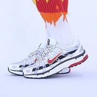NIKE P-6000 Fashion Retro Shock Absorbent Comfort Running Shoes