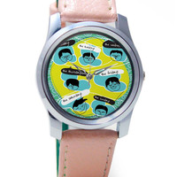 Whole Week's Emoticons Wrist Watch