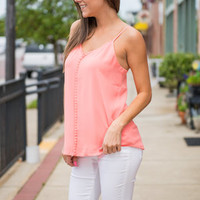 Sunday Sips Tank, Coral