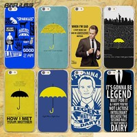 BiNFUL how i met your mother himym quotes hard clear Cases cover for Apple iPhone 7 6 6s Plus SE 4s 5 5s 5c plastic phone case