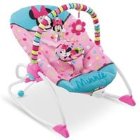 Disney Baby to Toddler, Infant Musical Bouncer Minnie Mouse Rocker