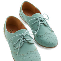 ModCloth Menswear Inspired Cool Contrast Flat