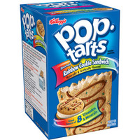 Walmart: Kellogg's Pop-Tarts Ice Cream Shoppe Frosted Rainbow Cookie Sandwich Toaster Pastries, 8ct