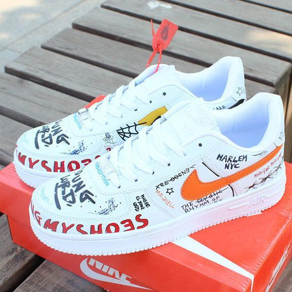 Image of NIKE AIR FORCE 1 Woman Men Fashion Sneakers Sport Shoes