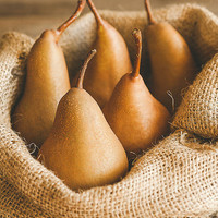 Rustic Pears, Food Photography, Photo Print, Wall Art, Fruit Photograph, Kitchen Decor, Dining Room Decor, Home Decor, Restaurant Decor