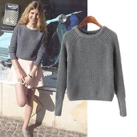 American Apparel Pullover Winter Classics Vintage Sweater [9695400655]