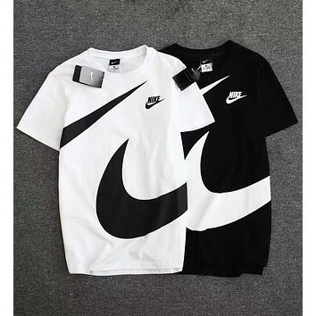 """Nike"" Hot Big Logo Print Short Sleeve T-Shirt Top(2-Color) I-A-BM-YSHY"