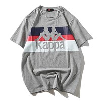 Kappa Woman Men Fashion Short Sleeve Tunic Shirt Top Blouse