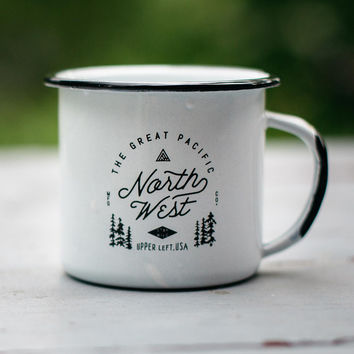 Survey Enamel Mug