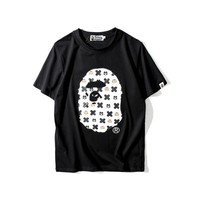 Round-neck Cotton Cartoons T-shirts [10351478151]