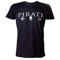 Assassin's Creed® IV Black Flag™ - Pirate Crest Official T-Shirt