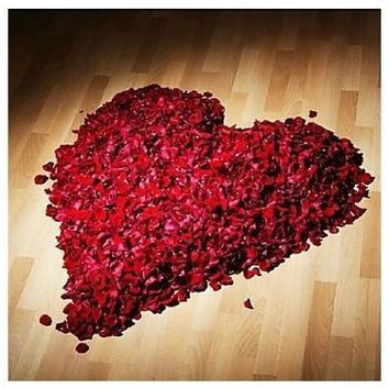 Hot Sale 500pcs Silk Rose Flower Petals For Wedding Table Decorations Event Party Supplies  [7983577351]