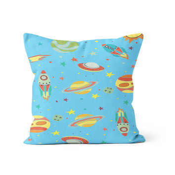 Space Galaxy Day Pillow