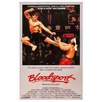 Bloodsport Movie Poster Mouse Pad Mousepad Mouse mat