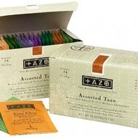 Tazo Products - Tazo - Assorted Tea Bags, Three Each Flavor, 24 Tea Bags/Box - Sold As 1 Box - Eight teas to choose from. - Three of each flavor included. -