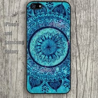 Rainbow Mandala colorful iphone 6 6 plus iPhone 5 5S 5C case Samsung S3,S4,S5 case Ipod Silicone plastic Phone cover Waterproof