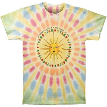 Grateful Dead Men's  Around The Sun Tie Dye T-shirt Multi