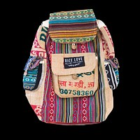 Recycled Travel Backpack - Jaipur