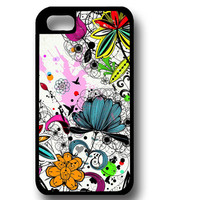 Floral Phone Case, iPhone 6, iPhone 4, iPhone 5, Samsung Galaxy, Custom Phone Case, Colorful Phone Case, Gift Phone Case, Personalized