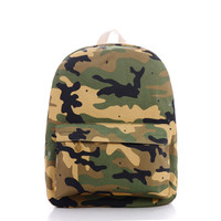 Camouflage Cool Canvas Backpack = 4887410372