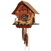 Kassel™ Black Forest Cuckoo Clock w/man and a beer
