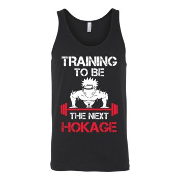 Naruto - Training to be the next hokage - Unisex tank top T Shirt - TL01202TT