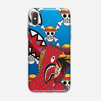 Luffy Bape iPhone XS Max Case