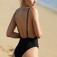 LA Hearts LUXE Square Neck One Piece Swimsuit at PacSun.com