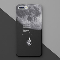 Astronaut iPhone X 8 7 Plus & iPhone se 5s 6 6 Plus Case Best Protection Cover +Gift-B02