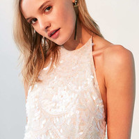 Kimchi Blue Atlantis Sequin Halter Top - Urban Outfitters