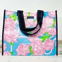 Roses Everyday Tote Bag/ Simply Southern