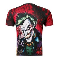 New Joker Poker 3D Funny Print T Shirt Men Fashion Top Summer T-shirts Quick Dry Male Tee Quality Camisetas Homme ZOOTOP BEAR