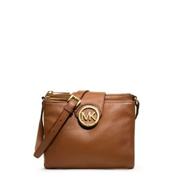 Fulton Large Leather Crossbody | Michael Kors