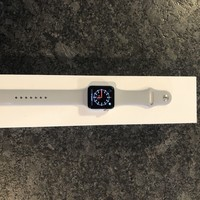 Apple Watch Series 3 42mm Silver Aluminium Case with Fog Sport Band (GPS +...