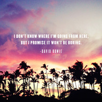 1980's sunset and quote Art Print by Goldfish Kiss